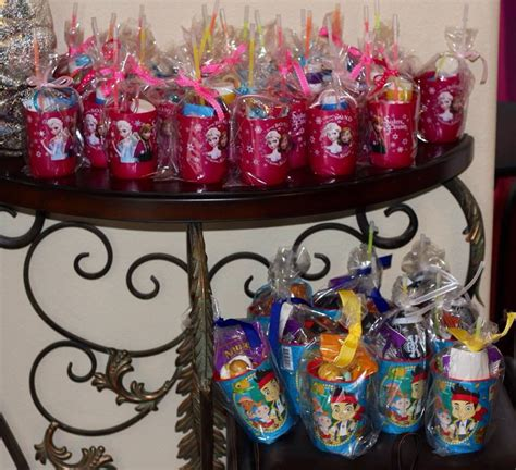 goody bag ideas frozen goodie bags birthday party