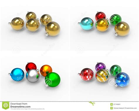 Colorful Baubles by Colorful Baubles Pack Stock Image Image 21746661