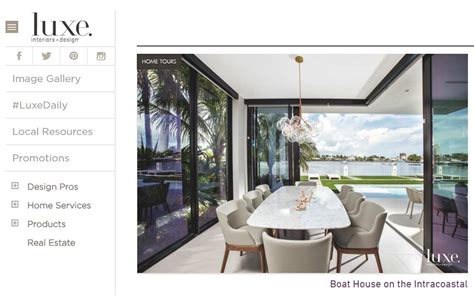 sophisticated vacation home in florida luxe magazine features dkor s sophisticated beach vacation