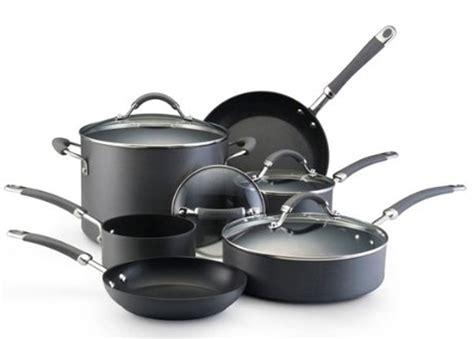 kitchenaid induction pans new kitchenaid 10 kitchen anodized cookware set nonstick pots pans ebay