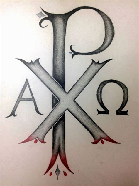 chi rho tattoo 1 chi rho the oldest known christogram in