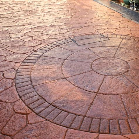 what is pattern imprinted concrete imprinted concrete scotland capital driveways