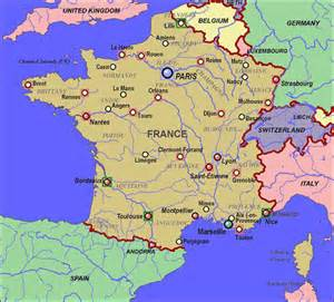 Lyon France Map by Scientific And Clinical Applications Of Magnetic Carriers