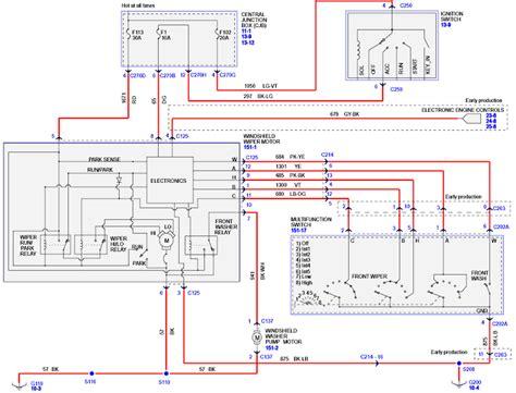 86 dodge wiper motor wiring diagram wiring diagrams