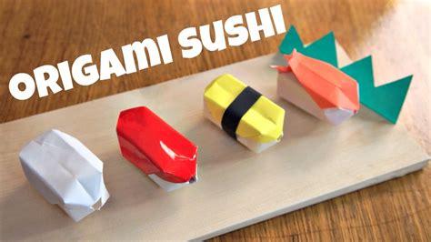 Origami Sushi - diy origami sushi