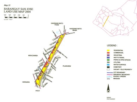 san jose land use map city of mandaluyong barangay san jose land use map