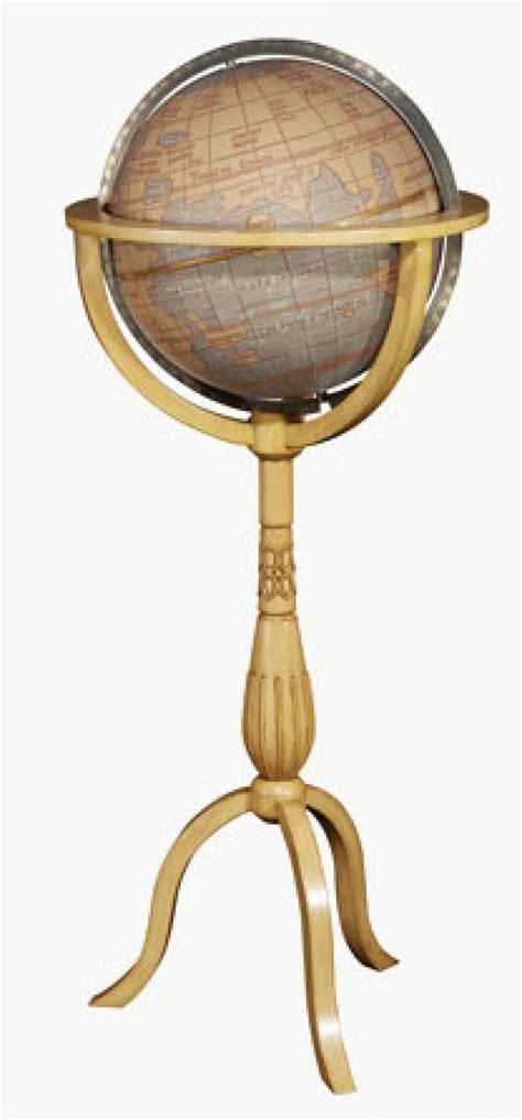 clockway 12in replogle lasalle waldseemuller floor globe
