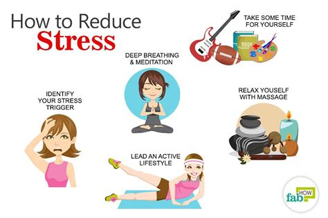 how to relieve anxiety how to reduce stress 20 easy tips fab how