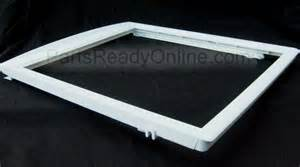 frigidaire replacement shelves frigidaire refrigerator shelf frame 16 5 inch crisper