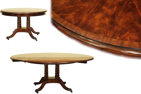 mahogany dining table round expandable formal mahogany dining table with leaves