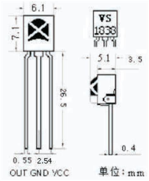 ir diode pinout ir diode vs transistor 28 images phototransistor usage vs1838b datasheet vs1838b pdf