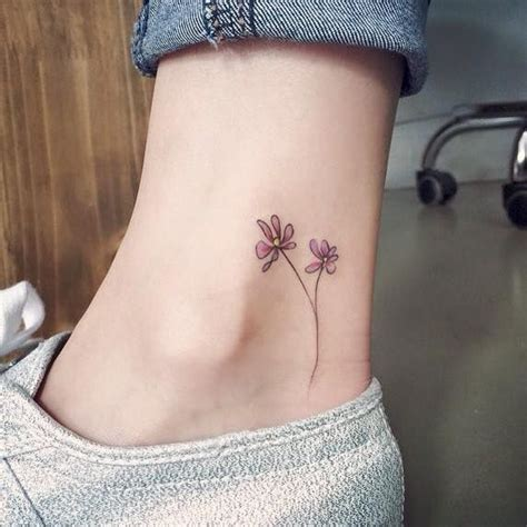 1000 ideas about purple flower tattoos on pinterest