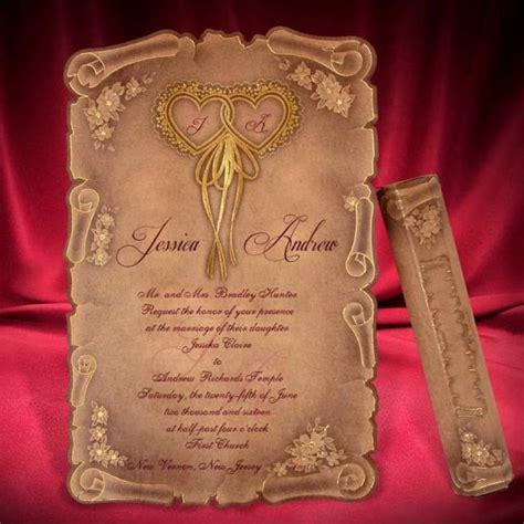 Beautiful Wedding Invitation Cards by Scroll Wedding Invitation Card Creative Personalized