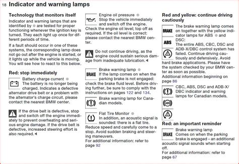bmw 325i warning lights 2006 bmw 325i warning symbols