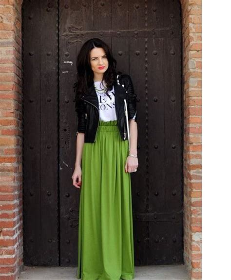 fashion for 48 48 maxi skirt the best street style choice for this summer