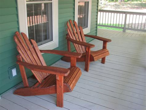 front chair re staining adirondack chairs living rich on less