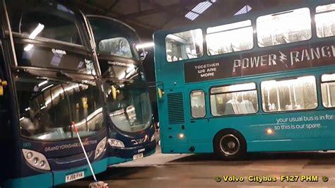 buses  heckmondwike arriva bus depot youtube