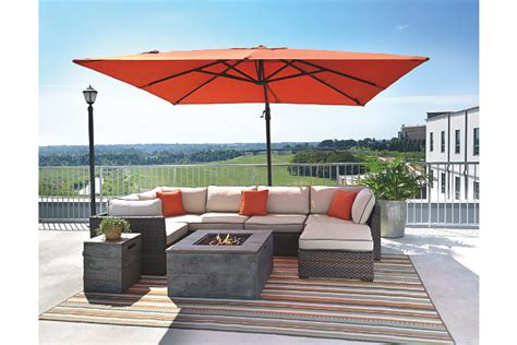 patio furniture umbrella oakengrove patio umbrella furniture homestore