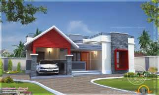 One Floor Homes single storey flat home design simple house designs india 8