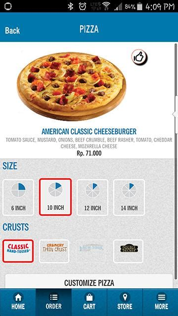 domino pizza hotline indonesia domino s pizza indonesia android apps on google play