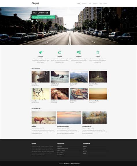 elegant themes mobile responsive 28 free portfolio wordpress themes april 2015