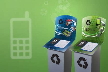 waste printer cartridge cell phone recycling bins