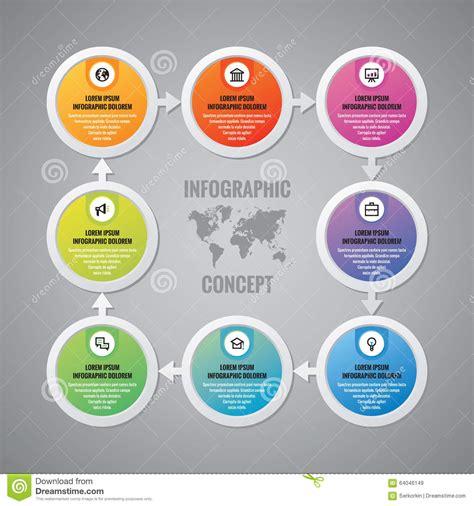 design concept elements infographic business concept vector layout circles