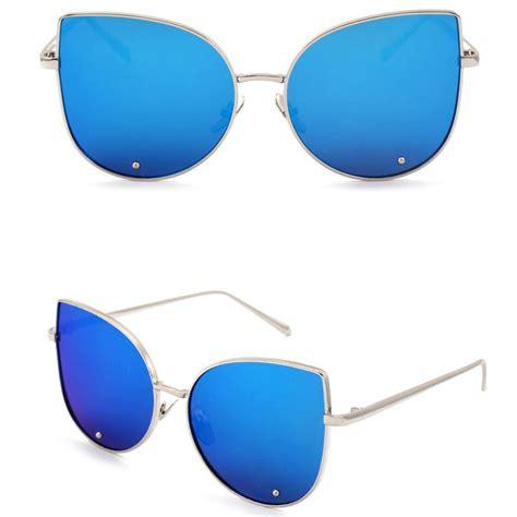 Kacamata Wanita Hafana Set 2 kacamata wanita model cat eye golden blue jakartanotebook