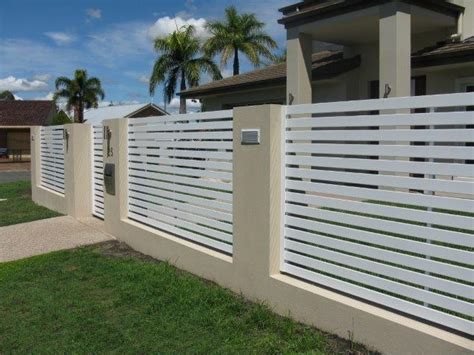 Home Decor Websites Cheap by Horizontal Slat White Brisbane Gates