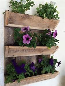 Pallet Wall Planter by Charming Pallet Wall Planters Recycled Things