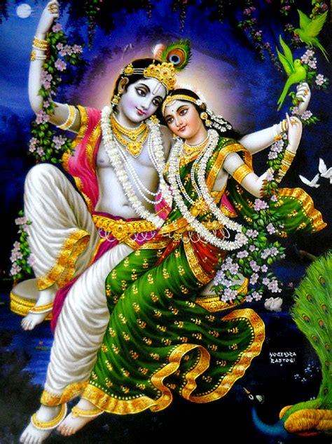 radha krishna swing radha and krishna on swing poster large auto design tech