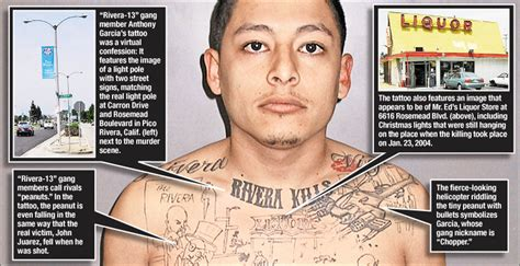 gang tattoos meaning crime part 1 187 gagdaily news