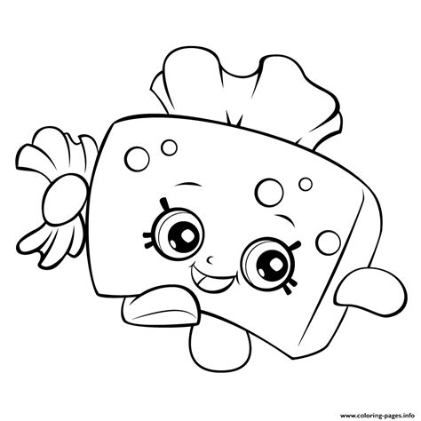 Coloring Pages Of Shopkins To Print