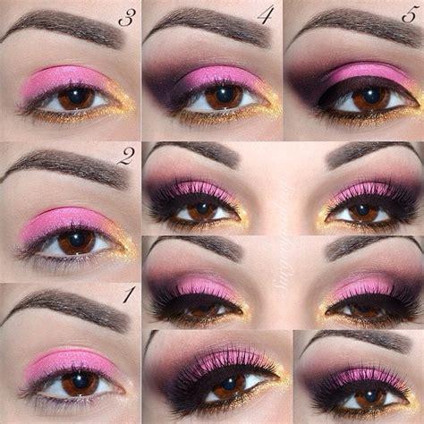 tutorial makeup eyeshadow pink pink eyeshadow tutorials trusper