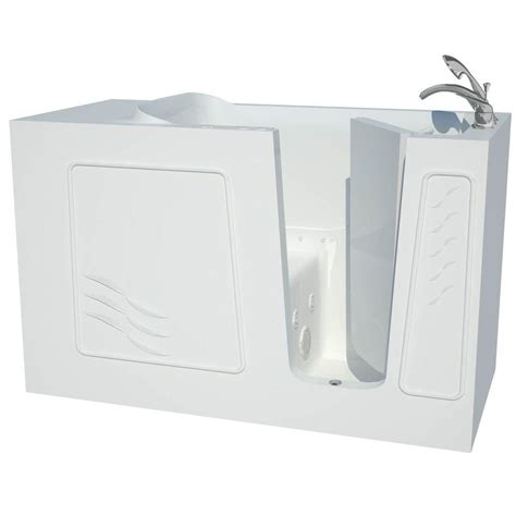 allure walk in tubs 5 ft right drain universal tubs contractor series 5 ft right drain