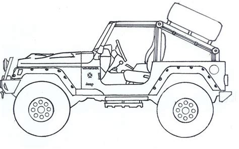 coloring pages jeep grand cherokee free coloring pages of jeep cherokee