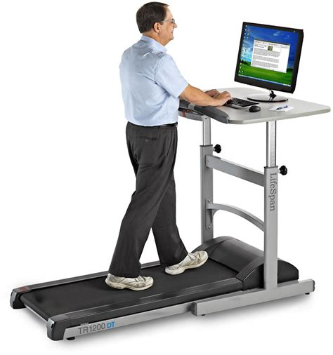 Laptop Desk For Treadmill The New Treadmill Desk To Make Easier In Your Office Tech4globe