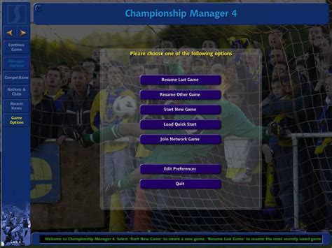chionship manager 4 full version download download chionship manager 4 windows my abandonware