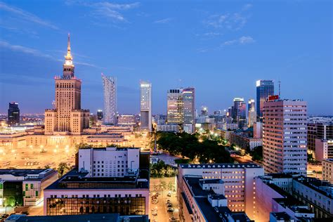 city of warsaw city in poland thousand wonders