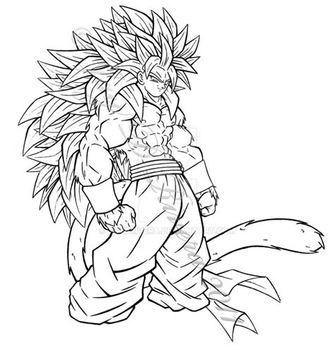 dragon ball z fusion coloring pages super saiyan 5 fusion by jaydrivera on deviantart