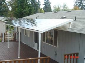 Rv Awning Side Panels Roofing Is There A Way To Improve The Appearance Of A