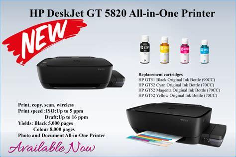 Printer Hp Deskjet Gt 5820 All In One M2q28a hp deskjet gt 5820 all in one printer