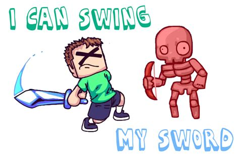 i can swing my sword i can swing my sword by aglover0007 on deviantart