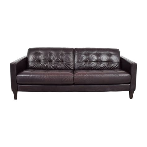 milan sofa milan sofa macy s milan leather sofa chairish thesofa
