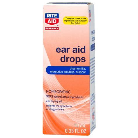 ear drops ear drops earache relief 0 33 fl oz rite aid
