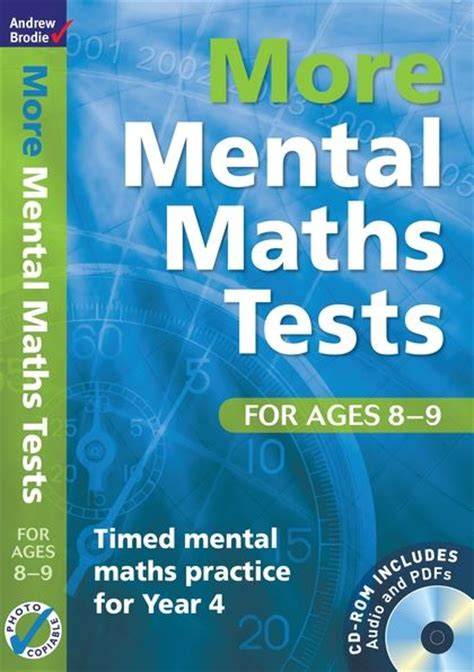 libro national 4 maths practice more mental maths tests for ages 8 9 timed mental maths practice for year 4 mental maths tests