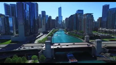 chicago a bird s eye view vii summer in the city youtube