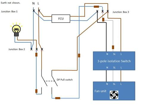 wiring diagram for bathroom