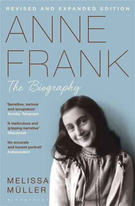 about anne frank biography in hindi anne frank the biography melissa m 252 ller bloomsbury