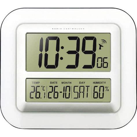 Bathroom Radio Controlled Clock Radio Wall Clock Techno Line Ws 8006 280 Mm X 245 Mm X 32